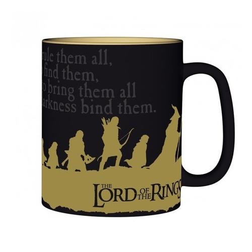 The Lord of the Rings - A gyűrűk Ura - Group bögre