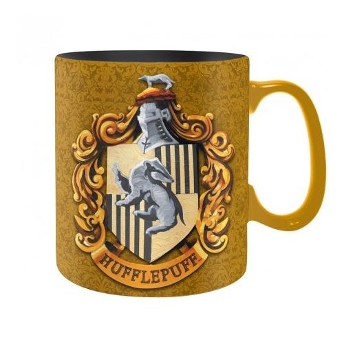 Harry Potter Hufflepuff Hugrabug bögre 460 ml