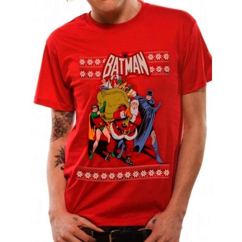 Batman - Robin and Santa póló