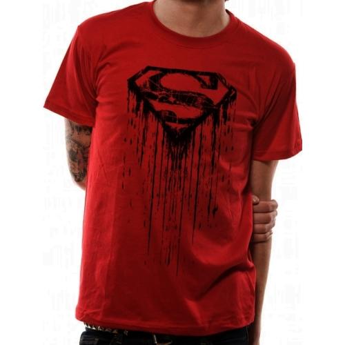 Superman - Dripping logo póló
