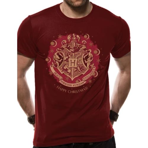 HARRY POTTER Happy Hogwarts Christmas póló