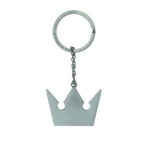 Kingdom Hearts Korona Embléma fém kulcstartó