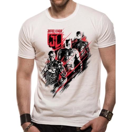 DC Comics - Justice League - Distortion póló