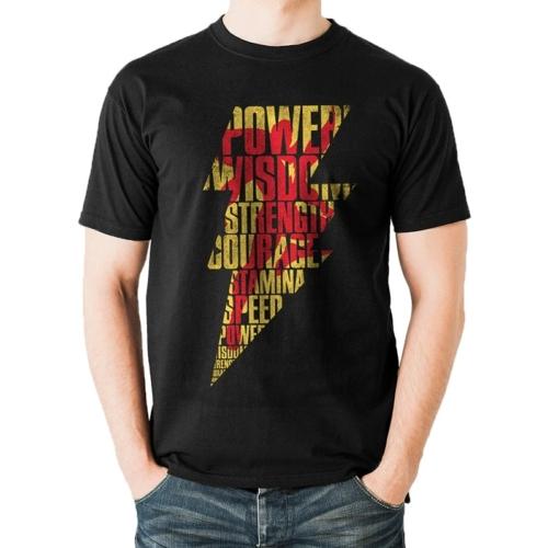 DC Comics - Shazam lightning póló