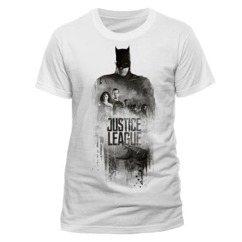 DC Comics - Justice League - Batman silhouette póló
