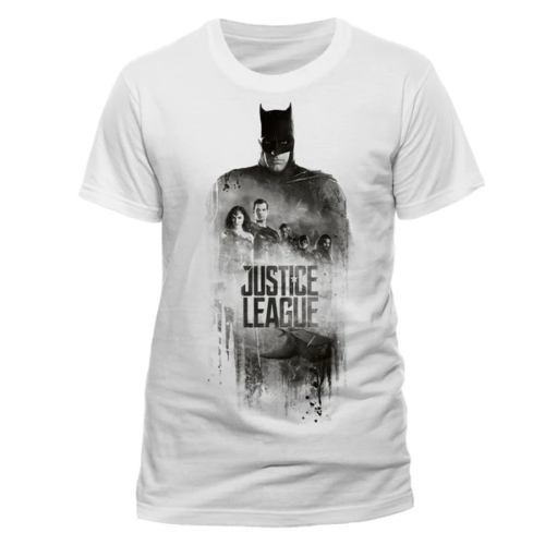 DC Comics - Justice League - Batman silhouette póló XL