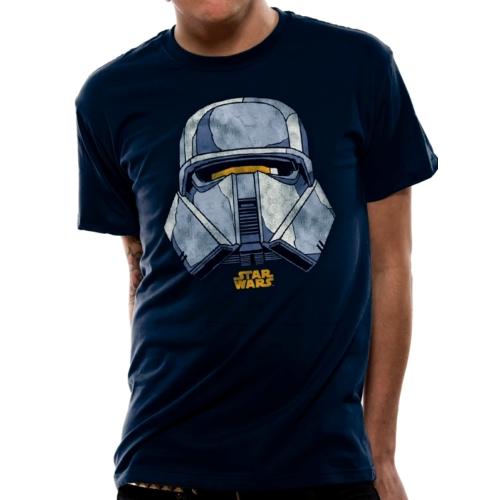 Star Wars - Csillagok Háborúja - Han Solo movie Trooper face póló