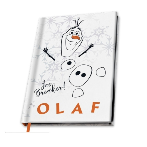 Frozen Jégvarázs Olaf jegyzetfüzet