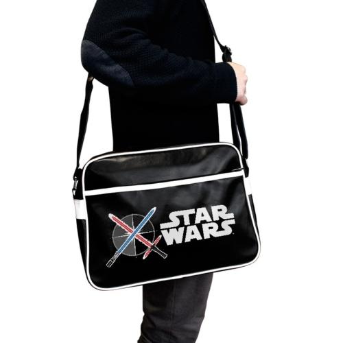 STAR WARS Lightsaber Csillagok háborúja lézerkardos oldaltáska
