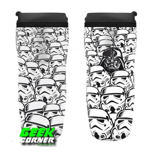 Star Wars Csillagok Háborúja Stormtroopers utazó bögre 355 ml