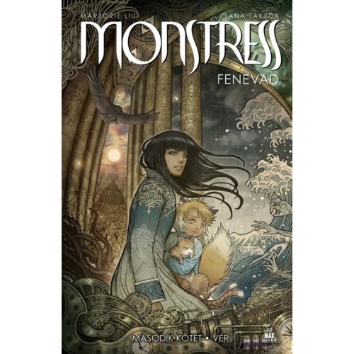 Marjorie Liu, Sana Takeda: Monstress - Fenevad, 2. kötet: Vér keménytáblás képregény