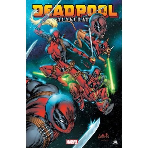 Deadpool - Alakulat képregény