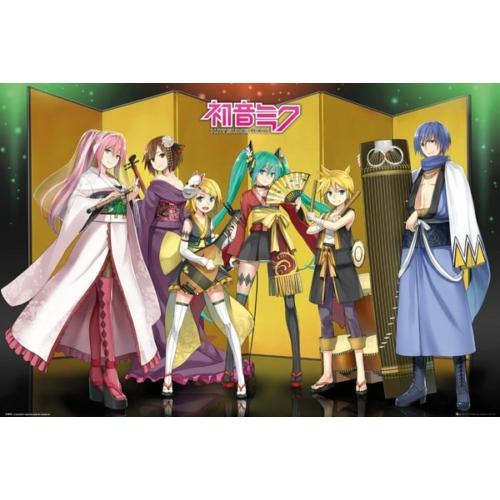 Vocaloid - Hatsune Miku - Kuroshishi Unit poszter FP4844
