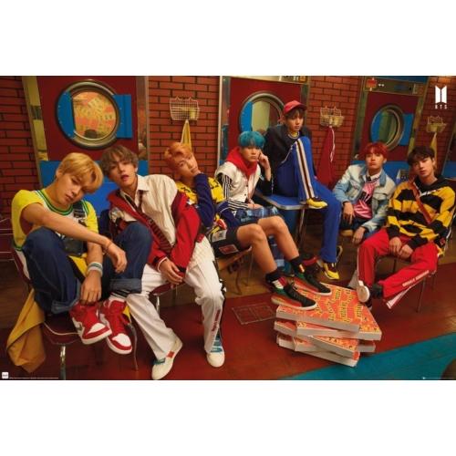 BTS - Band poszter LP2146