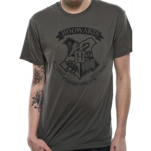 Harry Potter - Hogwarts distressed póló