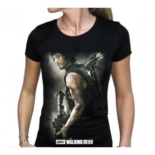The Walking Dead - Daryl Crossbow női póló