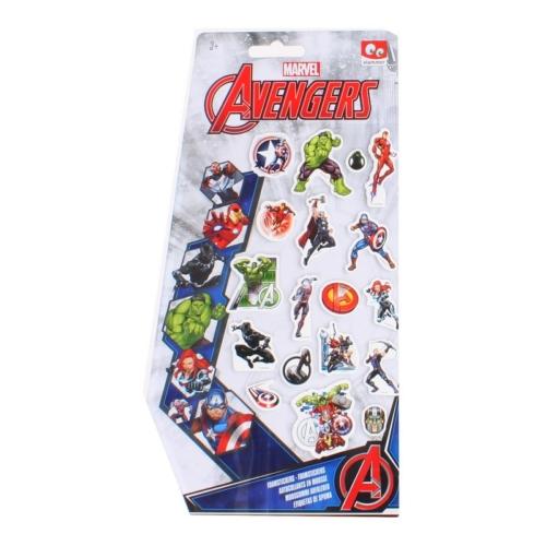 Marvel Comics Avengers Bosszúállók szivacs matricák