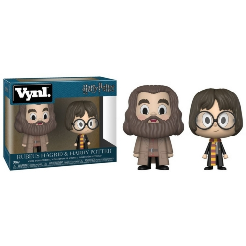 HARRY POTTER VYNL figura szett Rubeus Hagrid és Harry Potter 13 cm