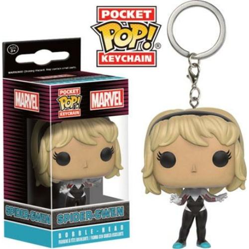 MARVEL Spider Gwen Funko Pocket POP figura kulcstartó 4 cm