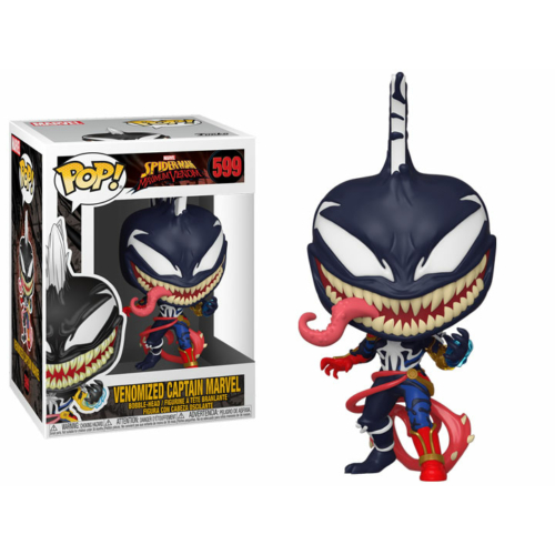 Funko Marvel Spider-Man Maximum Venom - Captain Marvel - Marvel kapitány POP Vinyl figura