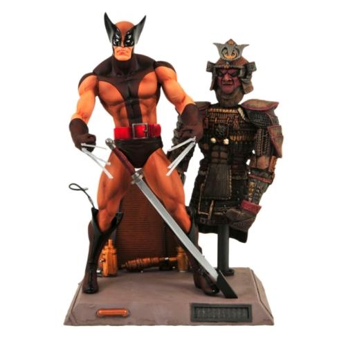 Marvel Select X-men Wolverine brown uniform Rozsomák / Farkas mozgatható figura