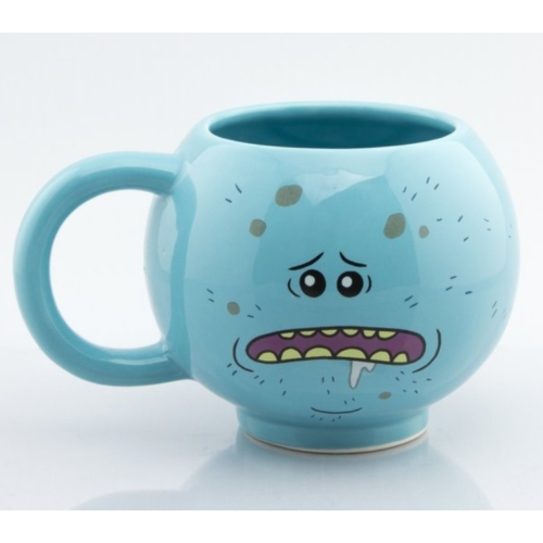 Rick and Morty Mr. Meeseeks Csicska 3D bögre 475 ml