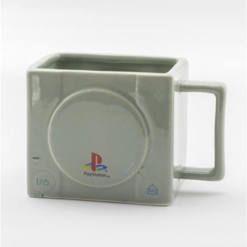 Playstation klasszik konzol formájú 3D gamer bögre 325 ml