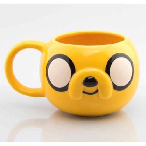 Adventure Time Kalandra Fel Jake 3D kerámia bögre 430 ml