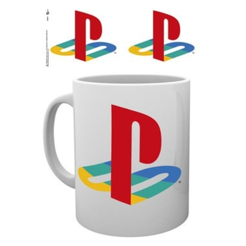 Playstation Colour Logo bögre