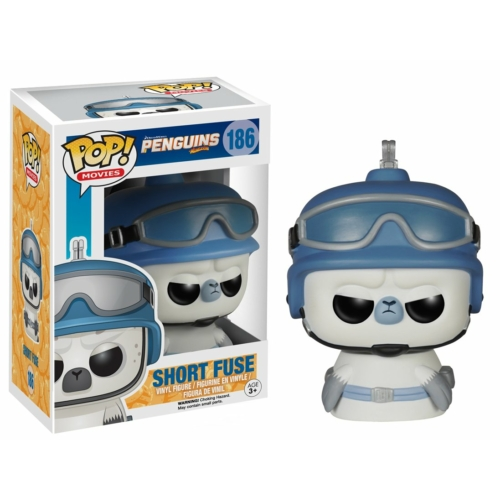 PoP! Penguins of Madagascar Short Fuse - A Madagaszkár pingvinjei POP Vinyl figura (165) 9 cm