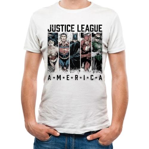 DC Comics - Igazság Ligája - Justice League of America póló S