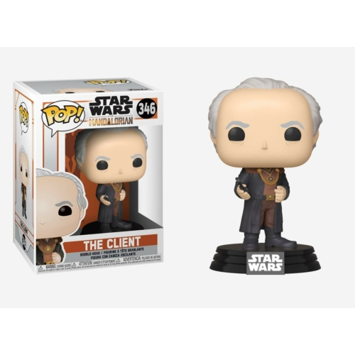 PoP! Movies Star Wars The Mandalorian The Client Csillagok háborúja POP figura 9 cm