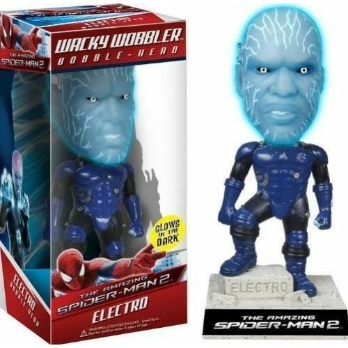 The Amazing Spider-Man Electro Bobble-Head figura 15 cm