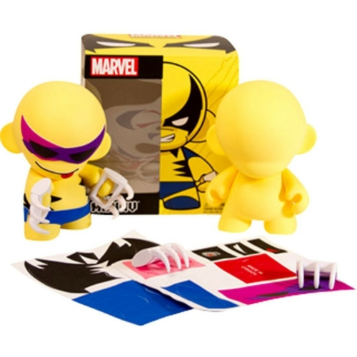 Kidrobot Marvel Munny Wolverine - Rozsomák/Farkas figura