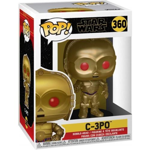 Funko Star Wars C-3PO Red Eyes - Csillagok háborúja POP Vinyl figura