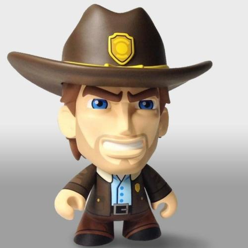 The Walking Dead Rick Grime Skybound Minis figura 15 cm