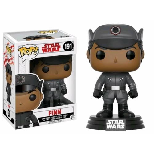 POP!  Movies Star Wars The Last Jedi Finn Csillagok háborúja Az utolsó Jedik POP figura (191)