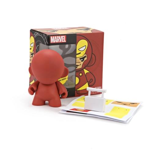 MARVEL Munny Iron Man Kidrobot dekorálható figura 12 cm