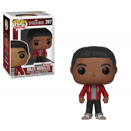 Marvel Spider-Man Video Game Miles Morales - Pókember POP Vinyl figura