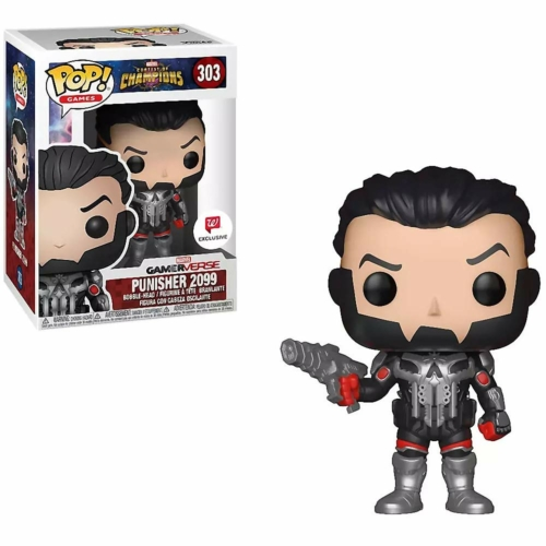 PoP! Games Marvel Contest of Champions Punisher A Megtorló 2099 POP Vinyl figura 9 cm