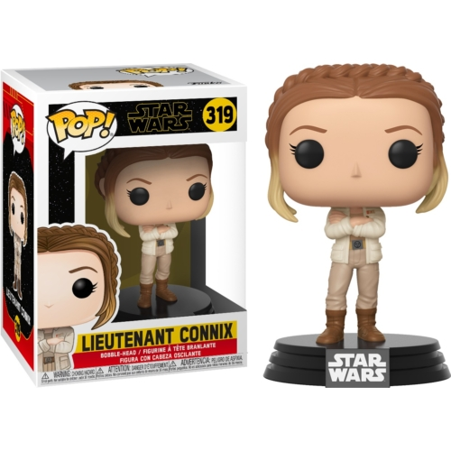 PoP! Movies Star Wars: The Rise of Skywalker Lieutenant Connix Csillagok háborúja: Skywalker kora POP figura 9 cm