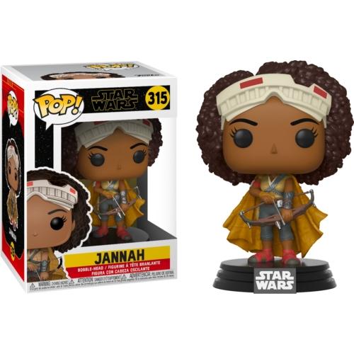 Star Wars: The Rise of Skywalker Jannah - Csillagok háborúja: Skywalker kora POP Vinyl figura