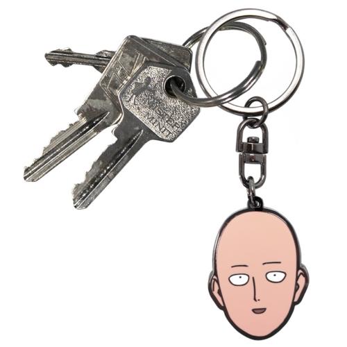 One Punch Man - Saitama fém kulcstartó