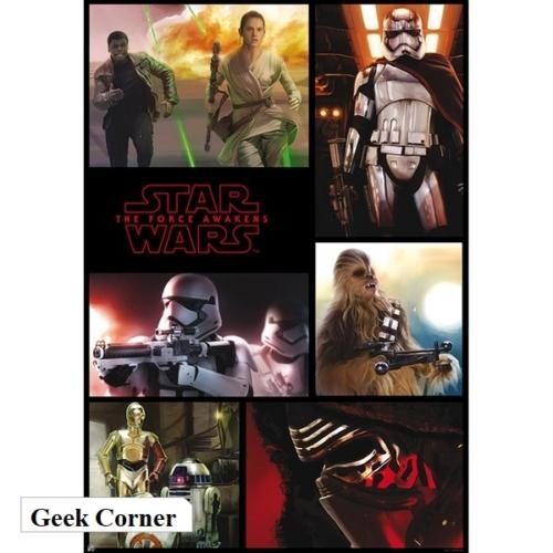 STAR WARS The Force Awakens - Csillagok Háborúja: Az ébredő Erő poszter 91.5 x 61 cm
