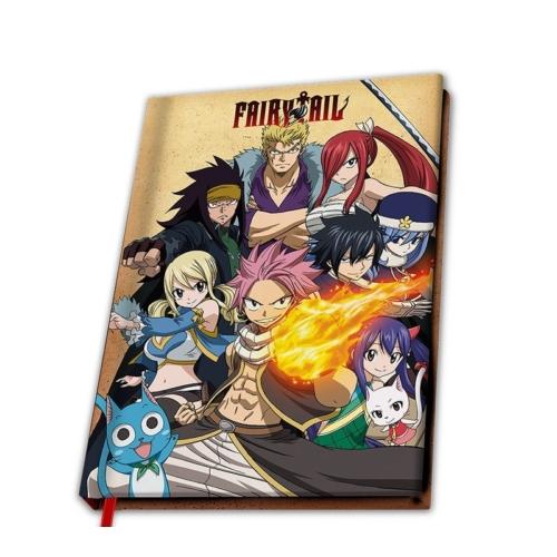 Fairy Tail jegyzetfüzet 180 oldalas