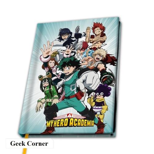 My Hero Academia Heroes jegyzetfüzet