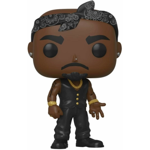 Funko POP! Rocks Tupac 2pac - Vest with Bandana POP Vinyl figura