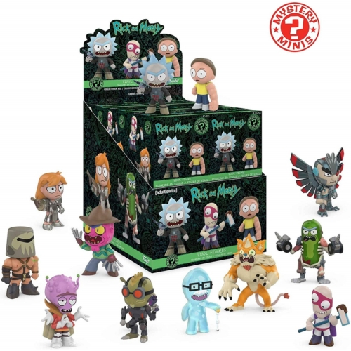 Funko Mystery Mini: Rick and Morty Series 2 POP Vinyl figura