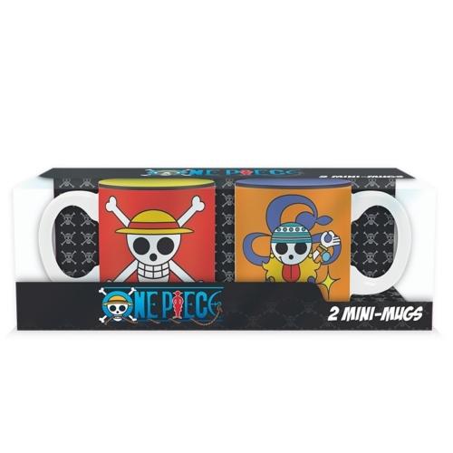 One Piece Luffy & Nami kávés bögre csomag 110 ml
