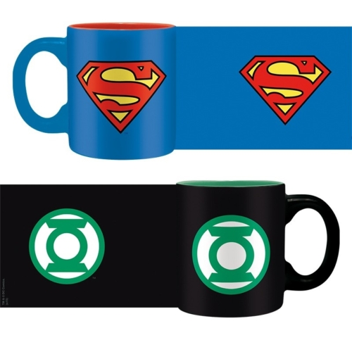 Superman Green Lantern A zöld lámpás Superman  kávés bögre csomag 110 ml